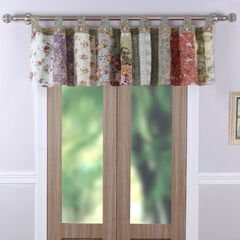 Blooming Prairie Window Valance , MULTI