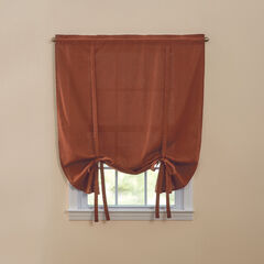 BH Studio Cotton Canvas Tie-Up Shade, TERRACOTTA