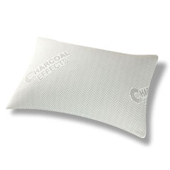 All-In-One Charcoal Effects Odor Control & Cooling Sleep Pillow, Standard, WHITE