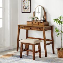 Coy Walnut Folding Desk, ANTIQUE WALNUT