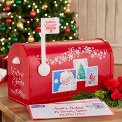 Mr. Christmas Santa's Enchanted Mailbox, RED