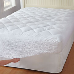 Bed Tite™ Mattress Pad, WHITE