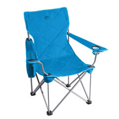 Extra Wide King Kong Folding Camp Chair, BLUE