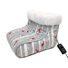 Microflannel Foot Warmers, CARDINAL