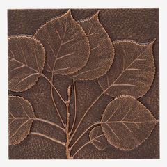 Aspen Leaf Wall Décor, ANTIQUE COPPER