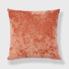 Radiant Crushed Velvet Toss Pillow, APRICOT ORANGE
