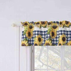Sunflower Gold Window Valance, GOLD
