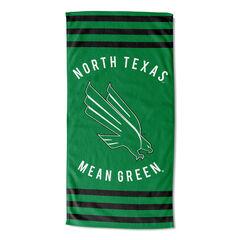 North Texas Stripes Beach Towel, MULTI