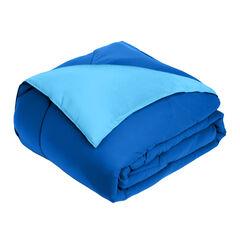 BH Studio Reversible Comforter, OCEAN BLUE MARINE BLUE