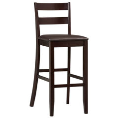 Triena Collection Soho Counter & Bar Stool, ESPRESSO