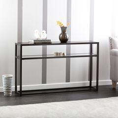 Holly & Martin Baldrick Console Table, BLACK
