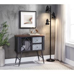 Forester Collection 2-Drawer Credenza , METAL GRAY