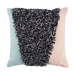 Triangle Shag Decorative Pillow, MULTI