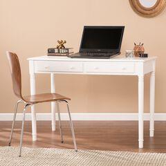 Writing 2-Drawer Desk, WHITE