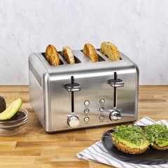 Kalorik 4-Slice Toaster, Stainless Steel, STAINLESS STEEL
