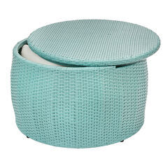 Santiago Round Storage Table, HAZE
