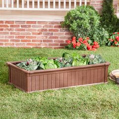 4' x 2' Raised Garden Bed, BROWN
