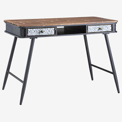 Forester Collection Desk with 2 Drawers, MULTI