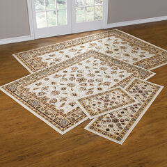 Floral Vine 4-Pc. Rug Set with Runner, IVORY