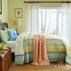 Coastal Stripe Bedspread, STRIPE MULTI