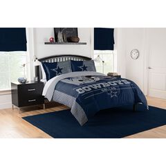 COMFORTER SET DRAFT-COWBOYS, MULTI