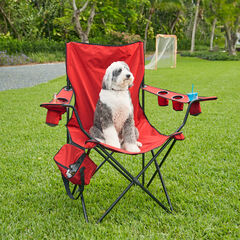 Super Size Folding Chair, RED