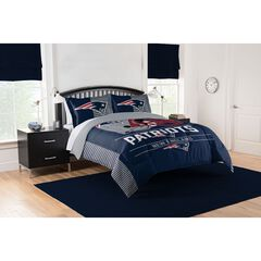 COMFORTER SET DRAFT-PATRIOTS, MULTI
