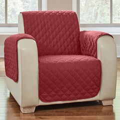 BH Studio Water-Repellent Microfiber Chair Protector, MERLOT