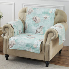 Ocean Turquoise Furniture Protector, Arm Chair, TURQUOISE