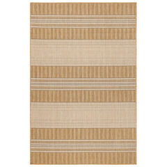 Liora Manne Carmel Stripe Indoor/Outdoor Rug, SAND