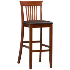 "Triena Collection Craftsman Bar Stool, 30""H, DARK CHERRY"