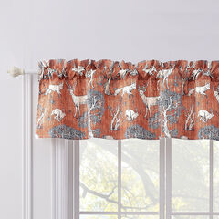 Menagerie Saffron Window Valance, SAFFRON