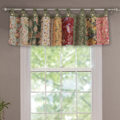 Antique Chic Window Valance , MULTI