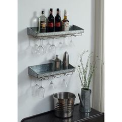 Systems Wine Storage Shelves , METAL