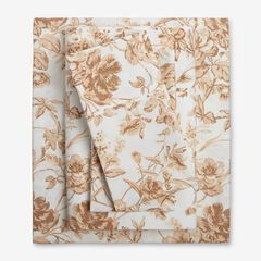 Microfiber Printed Bed Tite™ Sheet Set, TAUPE TOILE