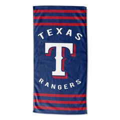 Rangers Stripes Beach Towel, MULTI