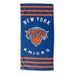 Knicks Stripes Beach Towel, MULTI