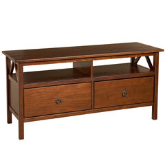 Titian TV Stand, ANTIQUE TOBACCO