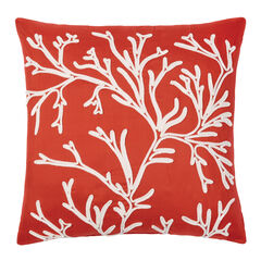 Coastal Sq. Pillow, CORAL