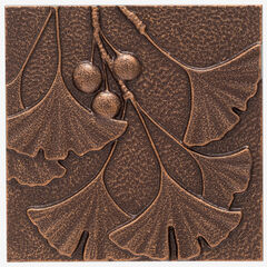 Gingko Leaf Wall Décor, ANTIQUE COPPER