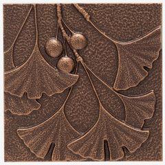 Gingko Leaf Wall Décor, ANTIQUE COPPER