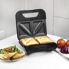 Kalorik 4-in-1 Sandwich Maker, Stainless Steel and Black, STAINLESS STEEL