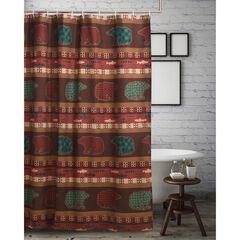 Canyon Creek Shower Curtain , MULTI