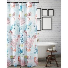 Sarasota Shower Curtain , MULTI