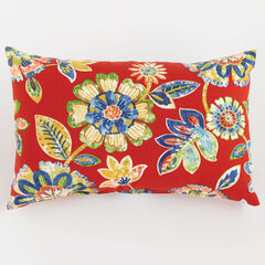 "20"" x 13"" Lumbar Pillow, DAELYN CHERRY"