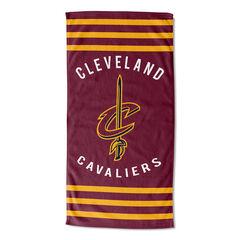 Cavaliers Stripes Beach Towel,