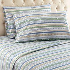 Micro Flannel® Print Sheet Se, STRIPE