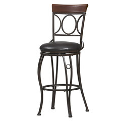 "Bar Stool, 17""Wx19¾""Dx46""H, METAL"