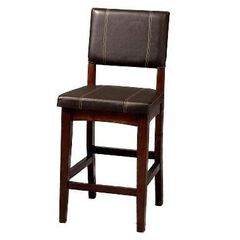 "Bar Stool, 17¾""Wx19½""Dx30""H, BROWN"