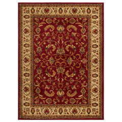 "Royalty Rug 7'8"" x 10'4"", RED IVORY"